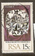 South Africa  1980  SG 477  Diamonds  Fine Used - África Del Sur (1961-...)