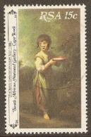 South Africa  1980  SG 483  Gainsborough   Fine Used - África Del Sur (1961-...)