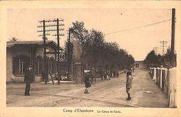 Camp D'Elsenborn - Le Corps De Garde (Edit. E Mahieu 1926) - Elsenborn (camp)