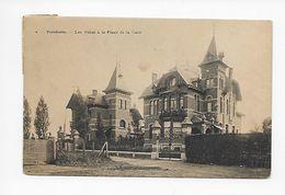Bornem  2 - Bornheim  Les Villas à La Place De La Gare 1911 - Bornem