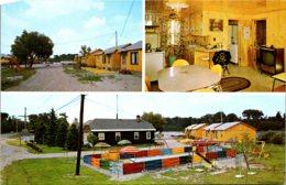 Michigan Sault Ste Marie Antlers Motel River Side Drive - Etats-Unis