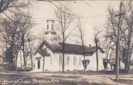 Michigan Plairwell Baptist Church Church Real Photo - Etats-Unis