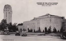Michigan Royal Oak Shrine Of The Little Flower Real Photo - Etats-Unis