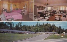 Michigan St Ignace Belle Isle Motel & Dining Room - Etats-Unis