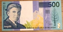 500 Francs Margritte UNC!! Verzamelstuk!! 0640 - 500 Francs