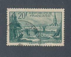 FRANCE - N° 394 OBLITERE - 1938 - Oblitérés