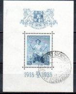 TCHECOSLOVAQUIE 1938 O - Czechoslovakia