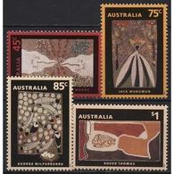 Australien 1993 Internationales Jahr Der Ureinwohner Gemälde 1331/34 Postfrisch - 1990-99 Elizabeth II