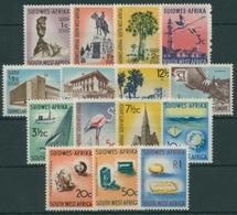 Südwestafrika 1961 Landesmotive Edelsteine Fischerei Staudamm 296/10 Postfrisch - Zuidwest-Afrika (1923-1990)