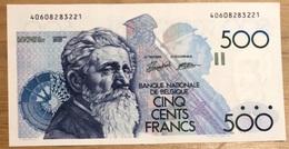 500 Francs Meunier UNC Droogenbroeck - Verplaetse!! 3221 - 500 Francs