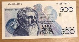 500 Francs Meunier UNC !! Genie - Godeaux!! 3773 - 500 Francs