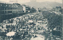 ALLEMAGNE - DEUTCHLAND - Bingen - Fruchtmarkt (1920) (AW) - Bingen