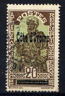 COTE D'IVOIRE - N° 93° - CHEF INDIGÈNE - Used Stamps
