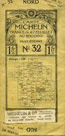 Carte Michelin N° 32 Saint-Etienne - Carte Stradali