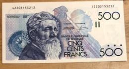 500 Francs Meunier UNC!! Demanet - Godeaux!! Zeer Moeilijk In Deze Topkwaliteit!! 3212 - 500 Francs