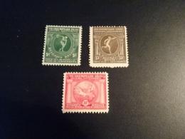 K32911 -set Mint Hinged  Belgium 1920 - SC. B48-50 - Olympics Antwerp - Summer 1920: Antwerp