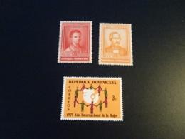 K32981 -stamps Mint Hinged Dominicana 1936 - Salome Urena And Felix M. Del Monte - Dominicaine (République)
