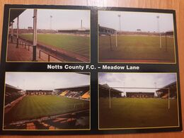 Nottingham Notts PEEL 6110 Cartolina Stadio Stadium Postcard Stadion AK Carte Postale Stade Estadio Stadium Postkarte - Soccer