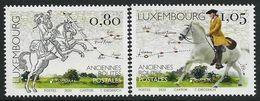 "LUXEMBURGO /LUXEMBOURG / LUXEMBURG  -EUROPA 2020- ""ANTIGUAS RUTAS POSTALES - ANCIENT POSTAL ROUTES"" - SERIE De 2 V - N - Europa-CEPT"