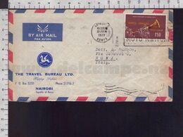 C9306 KENYA UGANDA TANZANIA Postal History 1970 MUSICAL INSTRUMENT THE NZOMARI - Kenya, Uganda & Tanganyika