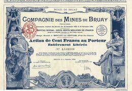 Titre Ancien - Compagnie Des Mines De Bruay - Titre De 1939 - Déco -N°1.530.886 - Mines