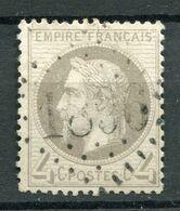 !!! 4 C LAURE OBLITERE GC 1860 JUGON (BOUCHES DU RHONE). RARE SUR CETTE VALEUR - Marcophily (detached Stamps)