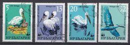 BULGARIEN  1984  MI.NR. 3303-3306 Krauskopfpelikan  USED / GEBRUIKT / OBLITER8 - Usati