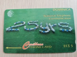 DOMINICA   GPT $ 5,-  25 YEARS      DOM-7A    7CDMA     Fine Used Card  ** 2789** - Dominica