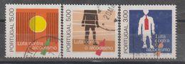 PORTUGAL CE AFINSA 1320/1322 - USADO - 1910 - ... Repubblica