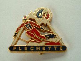 BROCHE : SKI - FLECHETTE - ESF - Sport Invernali