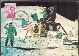 C. Postale - USA - Colonel James B. Irwin - Apollo 15 Mission - 1981 - Circulee - A1RR2 - Altri
