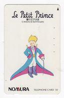 JAPON TELECARTE Le Petit Prince Antoine De Saint Exupéry - Comics