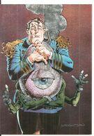 BERNIE WRIGHTSON CAPITANO CAP CARD MS1 METALLIC 1994 - Sammelkartenspiele (TCG, CCG)