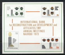 Kenya Uganda & Tanzania 1973 Development Bank MS MUH - Kenya, Uganda & Tanganyika
