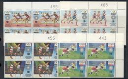 Kenya Uganda & Tanzania 1972 Summer Olympics Munich Blk4 MUH - Kenya, Uganda & Tanganyika