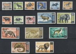 Kenya 1966-69 Pictorials, Animals MUH - Kenia (1963-...)