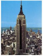 (F 17) USA - New York City Booklyn Bridge - Empire State Building