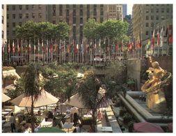 (F 17) USA - New York City Prometheus Statue - Autres Monuments, édifices