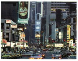 (F 17) USA - New York City Time Square - Time Square