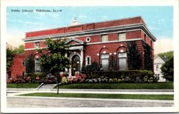 Iowa Oskaloosa Public Library - Etats-Unis