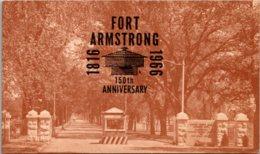 Iowa Fort Armstrong 150th Anniversary - Etats-Unis