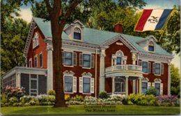 Iowa Des Moines Governors Mansion Curteich - Des Moines
