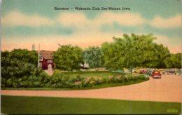Iowa Des Moines Wakonda Club Entrance - Des Moines