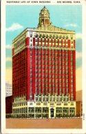 Iowa Des Moines Equitable Life Of Iowa Building 1948 Curteich - Des Moines