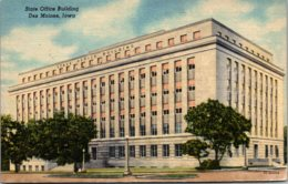 Iowa Des Moines State Office Building Curteich - Des Moines