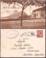 """C. Postale - 1926 - Avenida Beira Mar - R.M.S.P """"Darro"""" - Circulee En Haute Mer - A1RR2 - Rio De Janeiro"""