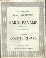 """""""Hardi Paname"""" Chanson De Robert Lamoureux, Musique Henri Bourtayre - Colette Renard - Musica & Strumenti"""