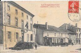 1914 - CHATENOIS - L'Hôtel De Ville - Chatenois