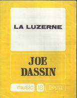 """"""" La Luzerne"""" Joe Dassin - Paroles Pierre Delanoé - Musique Joe Dassin - Musica & Strumenti"""