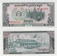 Cambodia 1979 - 10 Riels - Pick 30 UNC - Cambogia
